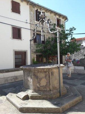 Il pozzo grande di Buzet (Pinguente) in Istria Croazia