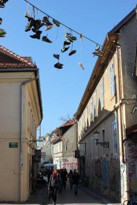 Trubarjeva cesta Lubiana Slovenia