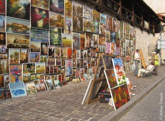 Quadri porta San Floriano Cracovia
