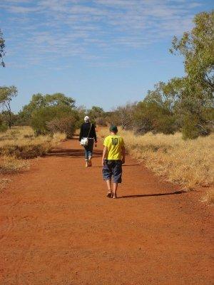 Base Walk Uluru Australia