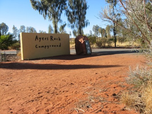 Campeggio Ayers Rock