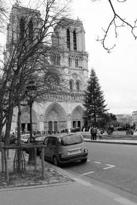 Cathédrale de Notre-Dame Parigi