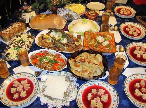 Piatti cena Vigilia Natale Polonia