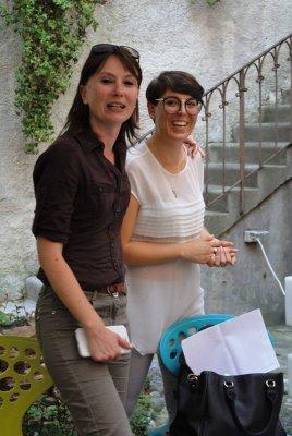 Simonetta Di Zanutto e Anna De Odorico