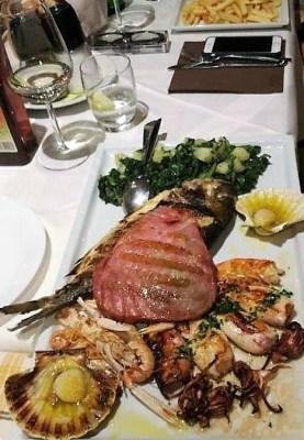Cena pesce Parenzo Istria