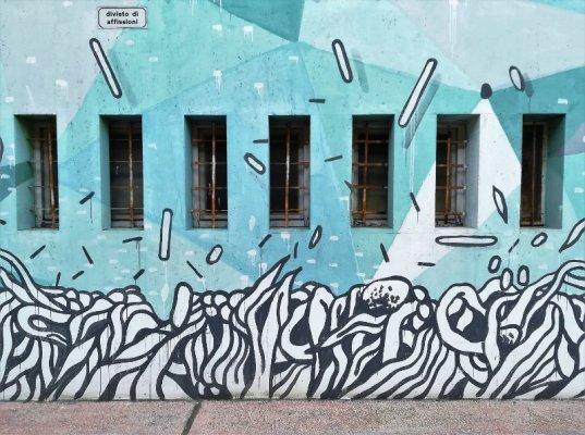 Autostazione Udine street art