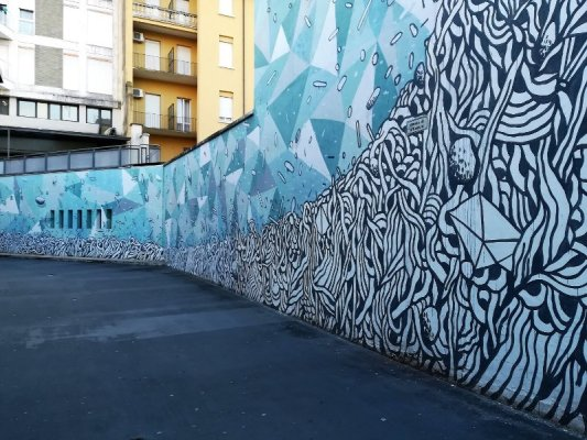 Street art Udine autostazione