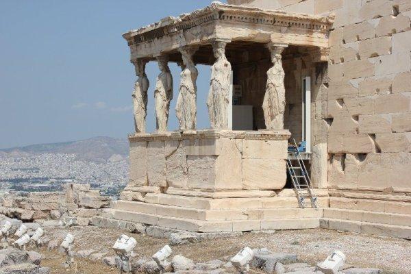 Tempio Eretteo Acropoli Atene