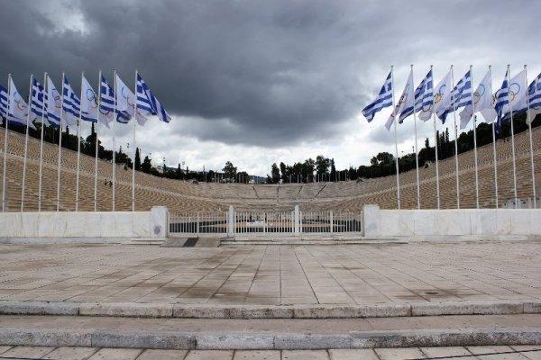 Vecchio stadio Panathinaiko Atene