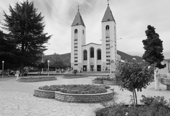 Chiesa San Giacomo Međugorje Bosnia Erzegovina