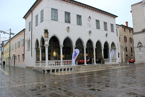 La Loggia in piazza Tito a Capodistria