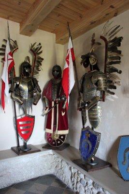 Castello Bobolice armatura Ussari Alati Polonia