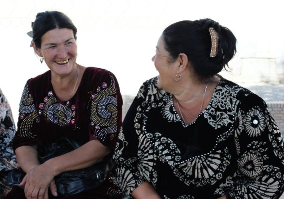 Donne uzbeke Samarcanda