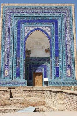 mausoleo Shah-i-Zinda Samarcanda Uzbekistan