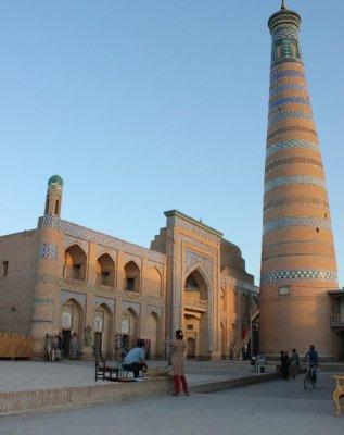 Minareto Islom Hoja Khiva Uzbekistan