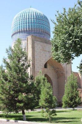 Moschea Bibi Khanym Samarcanda Uzbekistan