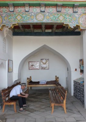 Moschea Hazrat Hizr Samarcanda Uzbekistan