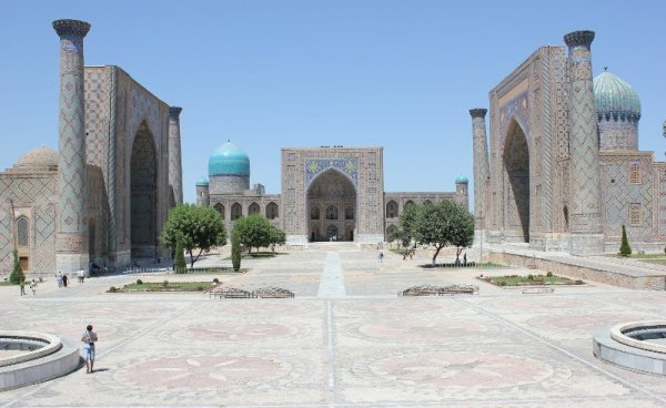 Registan Samarcanda Uzbekistan