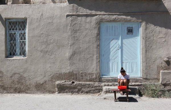 Vicoli Bukhara Uzbekistan