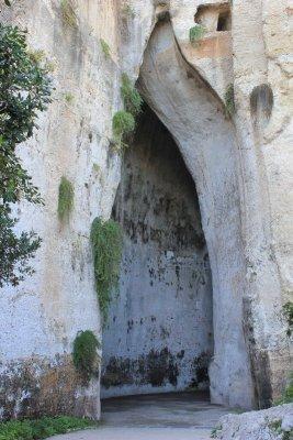 Parco archeologico Neàpolis Siracusa Orecchio di Dionisio