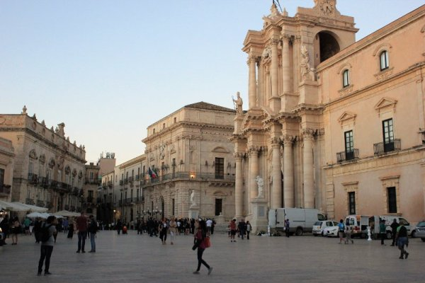 Piazza Duomo Siracusa