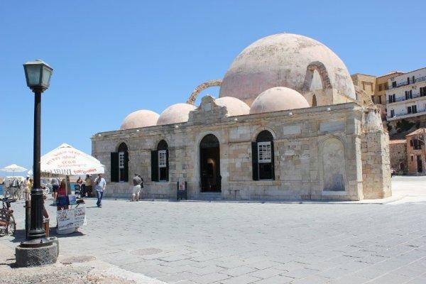 moschea Kioutsouk Hasan Chania Creta