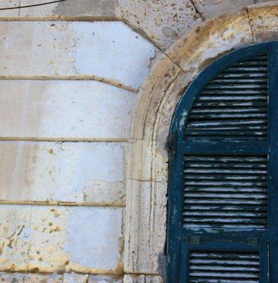 Particolare finestra Ortigia Siracusa