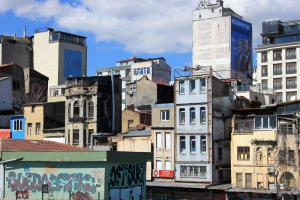 Sobborgo di Beyoğlu Istanbul