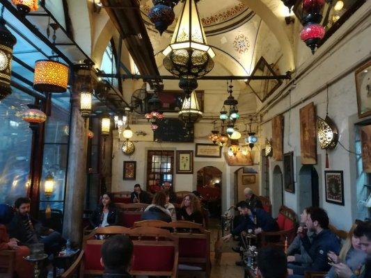 Shisha bar medresa Çorlulu Ali Paşa Istanbul