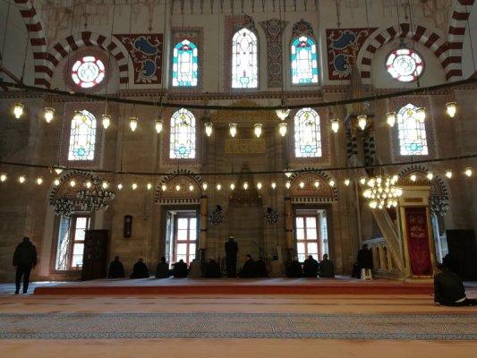 Interno Moschea Şehzade Mehmet a Istanbul