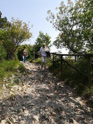 Sentiero Rilke sopra le falesie di Duino