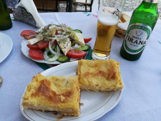 Byrek me Gjizë piatto tipico Albania