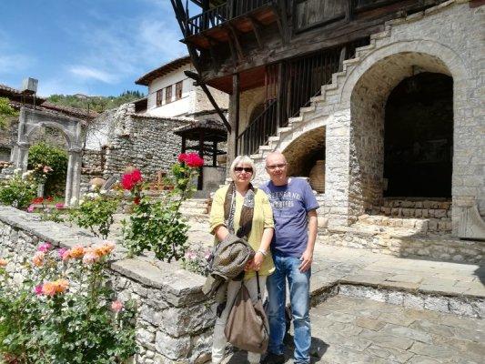 Giardino del Museo Etnografico Berat Albania