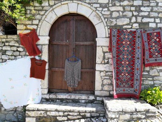 Abitazioni tipiche Kalaja Berat Albania