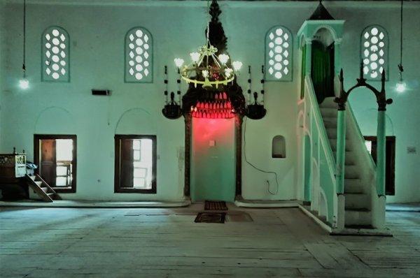 Interno Moschea del Sultano Berat Albania