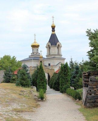 Chiesa ortodossa di Orheiul Vechi Moldova