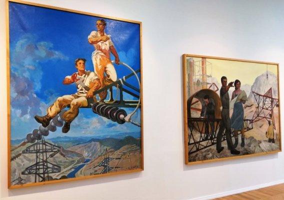 Opere nella Galleria Nazionale Tirana