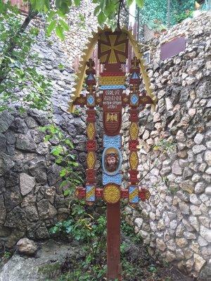 Icona religiosa Monastero di Saharna Moldova