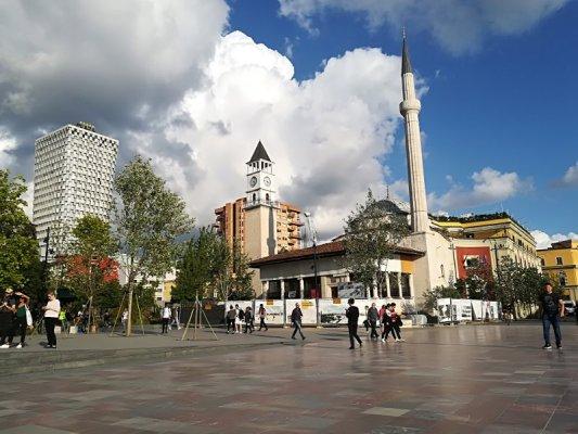 Moschea Haxhi Et'hem Bey e Torre Orologio a Tirana