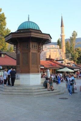 La fontana Sebilj Sarajevo
