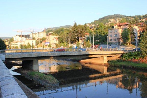 Il ponte Vrbanja a Sarajevo