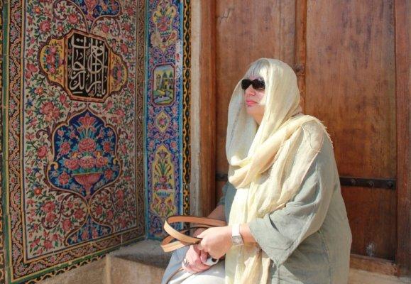 Cortile Moschea Nasir-al-Molk a Shiraz Iran