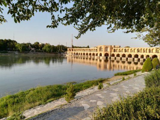 Ponte Pol-e Khaju Esfahan Iran