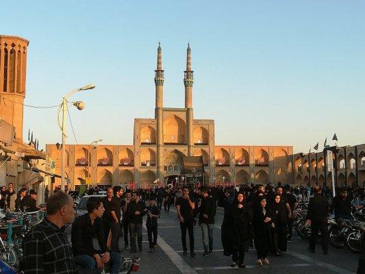 Complesso moschea di Amir Chakhmaq Yazd Iran