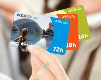 Carta turistica di Valencia