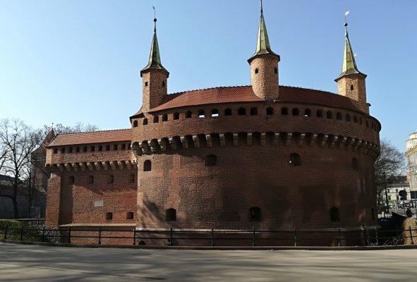 Fortezza del Barbacane a Cracovia