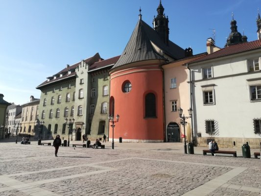 Piazza Mały Rynek a Cracovia