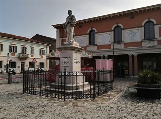 Monumento a Giuseppe Garibaldi a Cesenatico
