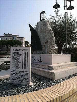 Monumento ai caduti in mare a Cesenatico