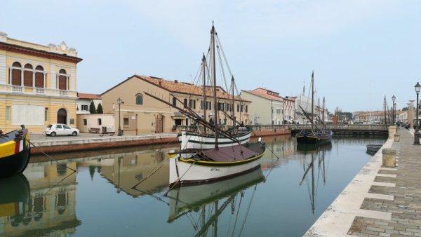 Sezione galleggiante Museo della Marineria Cesenatico